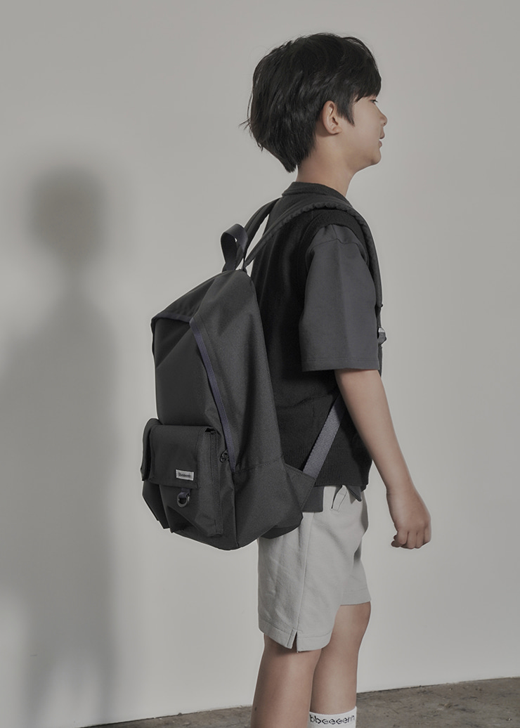 ben Round Backpack_Black