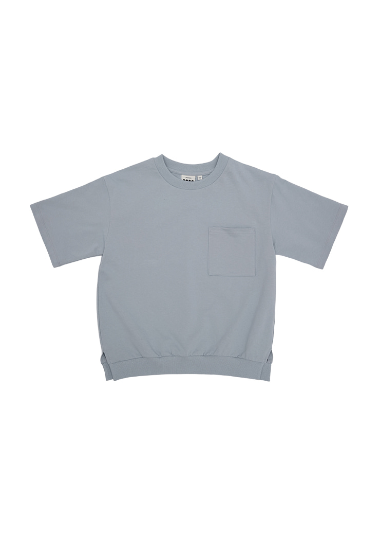 Over Pocket Half MTM_Sky Blue