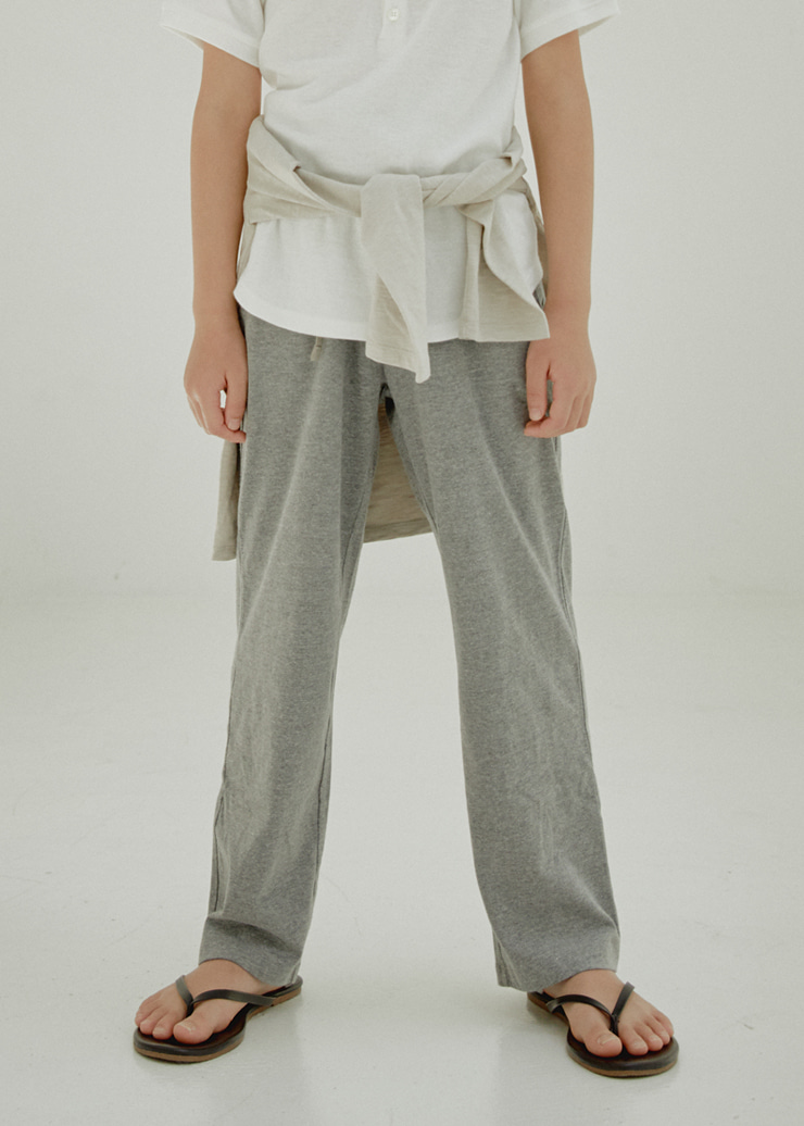 ben Lounge Pants_Melange Gray
