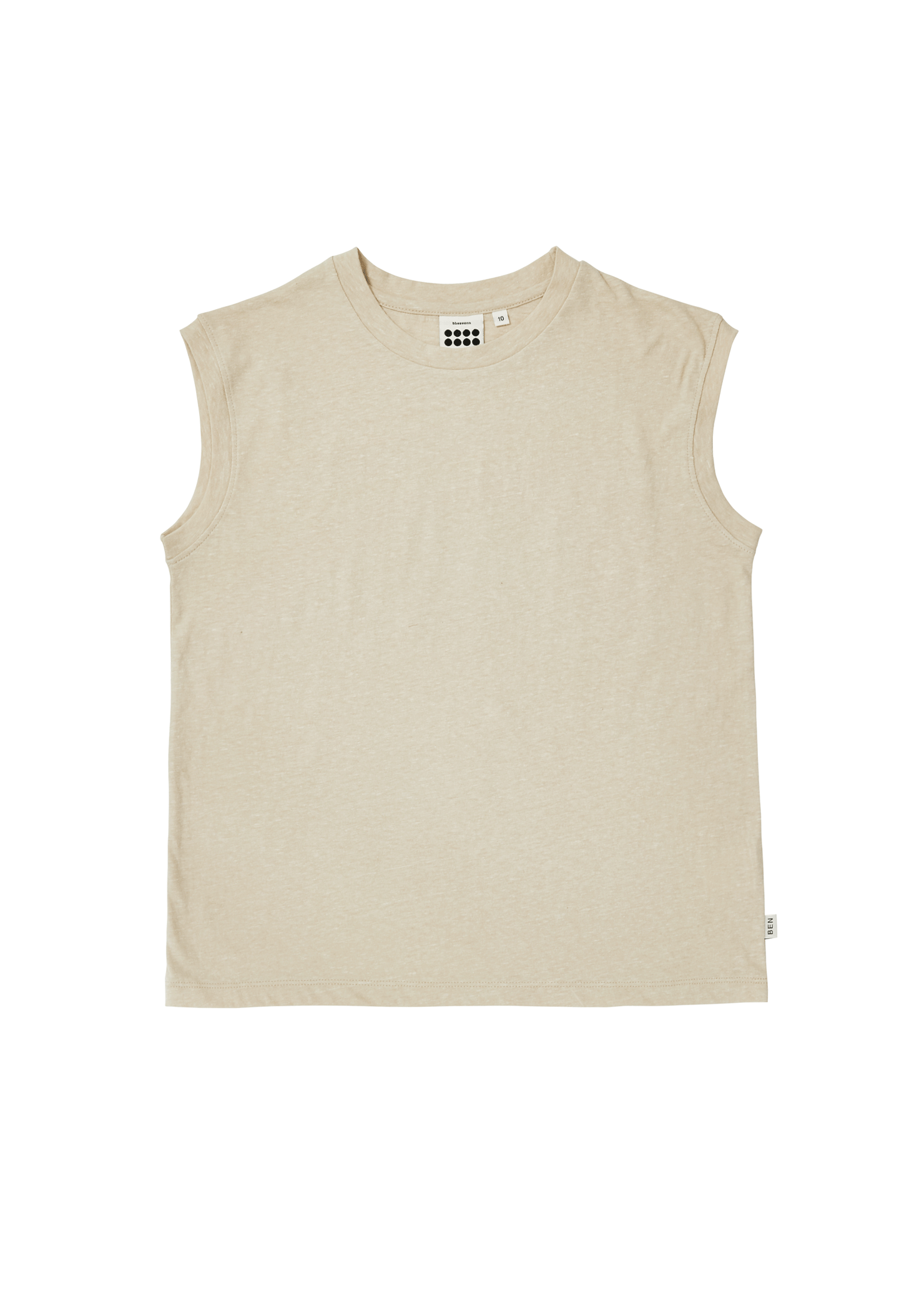 ben Simon Sleeveless_Grayish Beige