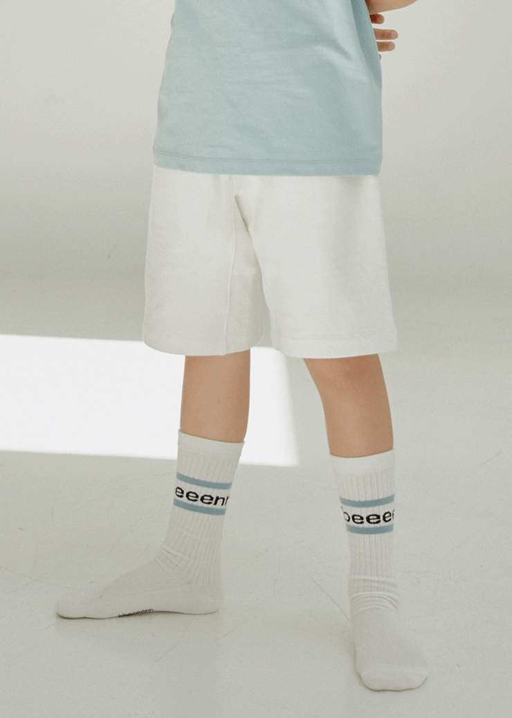 ben Summer 20 Sweat Shorts_Ivory