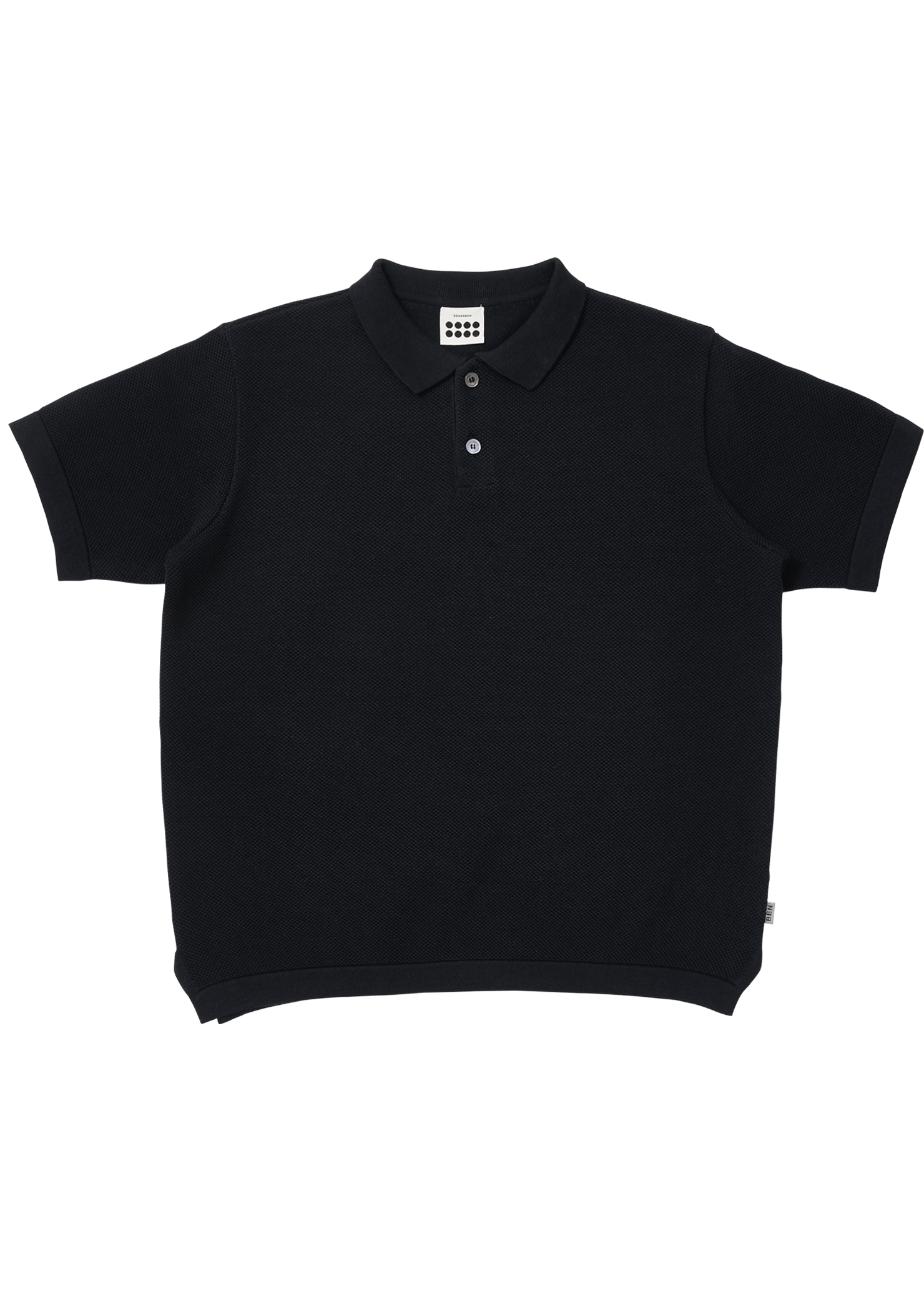Daddy) ben Tennis Knit T_Navy