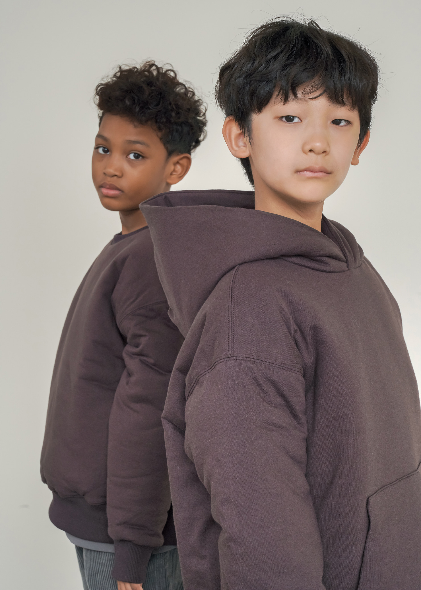 ben Bonding Comfort Hoodie_Brown